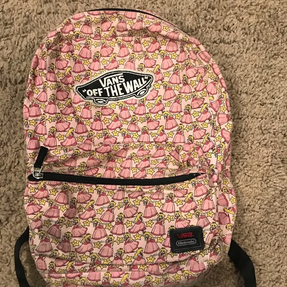 bf423e4c69 Vans Princess Peach Backpack! Used! M_5c05c54a819e90d6773ba650